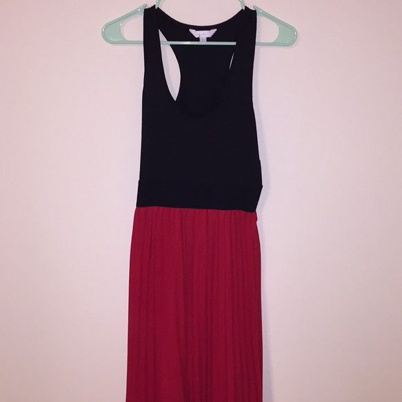 Charming Charlie Dresses Red And Black Size S Maxi Dress Poshmark